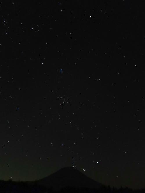 2015.8.16富士山より昇るオリオン_e0321032_16105260.jpg