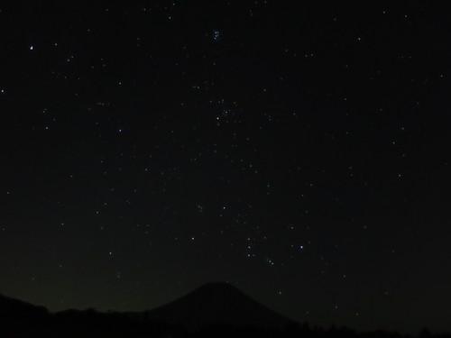 2015.8.16富士山より昇るオリオン_e0321032_1623732.jpg