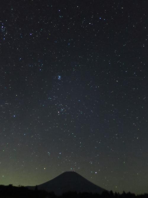 2015.8.16富士山より昇るオリオン_e0321032_1673036.jpg