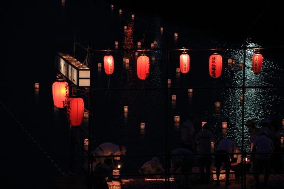 嵐山・・・お盆の終わりを告げる風景。_d0202264_11404696.jpg