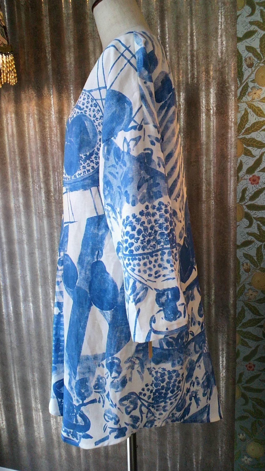 カーテン生地で作る『マリメッコ』の洋服_c0157866_19382028.jpg