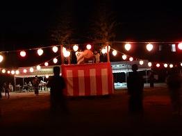 女子畑で盆踊り_e0175370_8574810.jpg