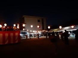 女子畑で盆踊り_e0175370_8585468.jpg