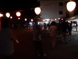 女子畑で盆踊り_e0175370_8594940.jpg