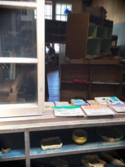 山奥にある廃校の本屋さん〜book cafe kuju 〜_d0077603_17213242.jpg
