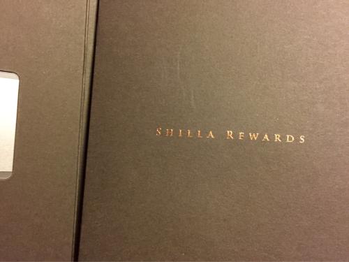 THE SHILLAからのサプライズ〜♪_d0285416_22403136.jpg