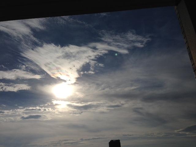 《空と雲》彩雲、そして夕焼け空~高次の存在を感じてみる。~_b0298740_21574937.jpg