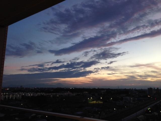 《空と雲》彩雲、そして夕焼け空~高次の存在を感じてみる。~_b0298740_21580192.jpg