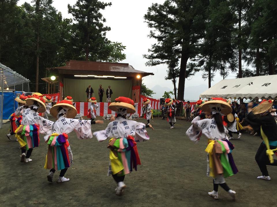 黒川さんさ踊り@館林神社_b0199244_1736508.jpg