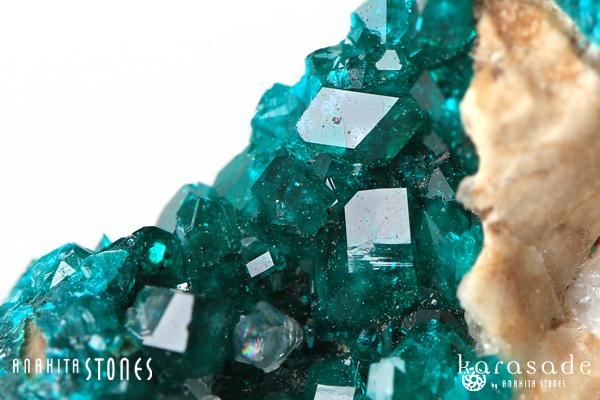 ダイオプテーゼ原石(カザフスタン産)_d0303974_15481676.jpg