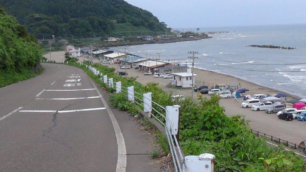 直江津海水浴場のキャンプ場の様子ー動画!_e0065084_1681667.jpg