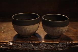 ②めし碗と湯呑み編=土田空さんの器が届きました!_f0226293_054426.jpg