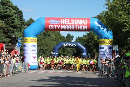ヘルシンキへの旅その1ーヘルシンキシティマラソンとチキータミニマラソン_e0123104_0263121.jpg