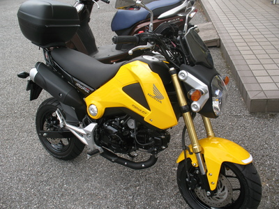 GROMのバイクザシートは張替もした方がGOO_e0114857_21102042.jpg