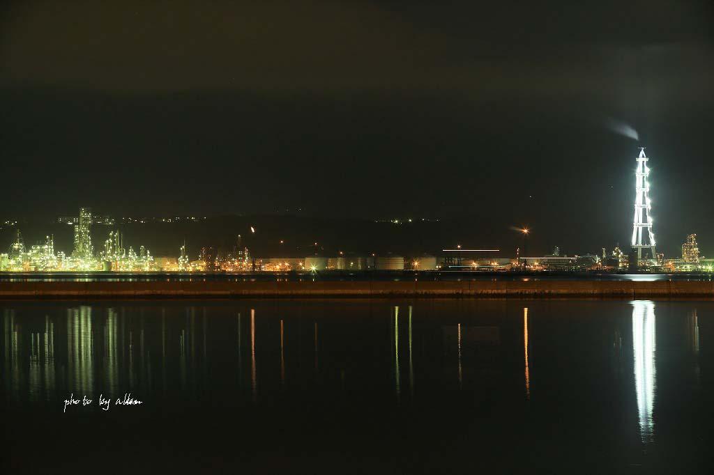 夜のヨットハーバーより~_a0039860_19144331.jpg