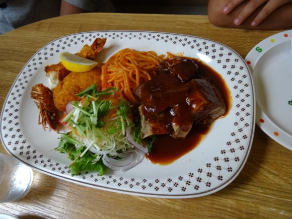 6)釧路市・泉谷のスパカツ_b0236665_10370291.jpg