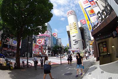 8月19日(水)今日の渋谷109前交差点_b0056983_19483986.jpg