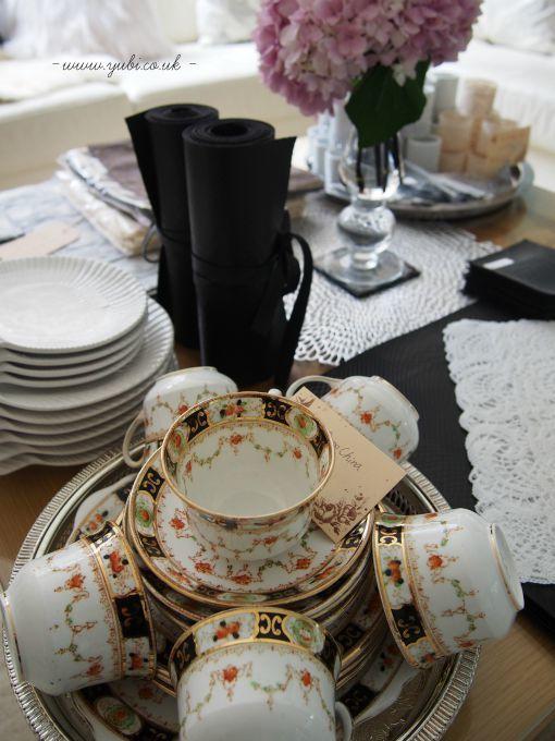 「優美ロンドン」テーブルコーディネート実演販売お茶会の準備♪_b0313387_03515146.jpg