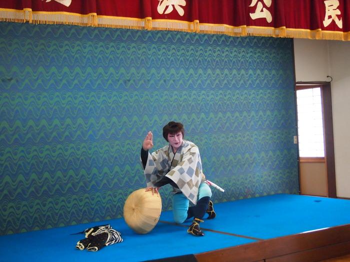 浮田と簑浜演芸交流会「キャベツ祭り」開催される_d0206420_16361583.jpg