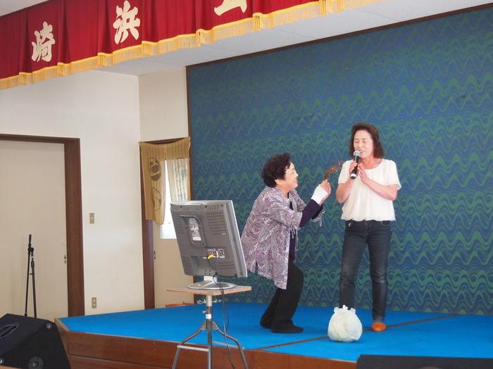 浮田と簑浜演芸交流会「キャベツ祭り」開催される_d0206420_16521899.jpg