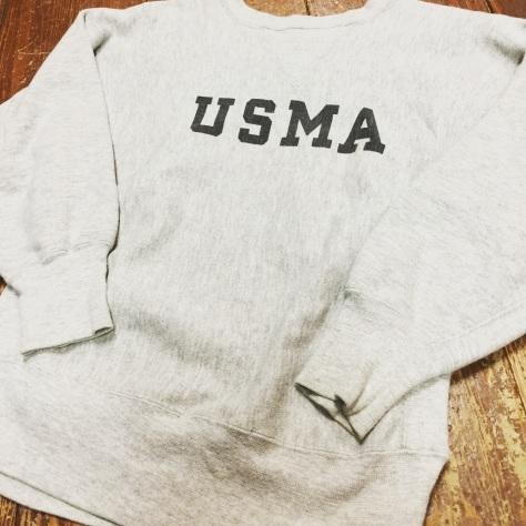 80s military USMA  championスウェット!!_a0108963_00481611.jpg