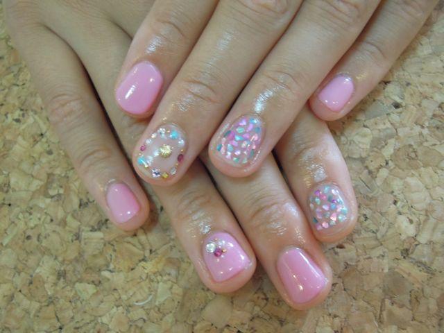 Pink Nail_a0239065_14201355.jpg