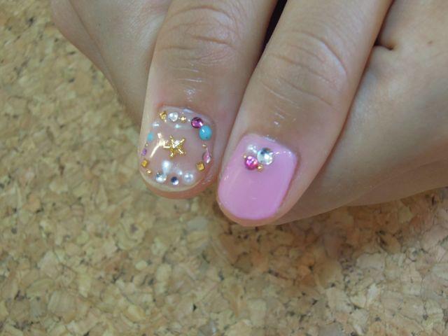 Pink Nail_a0239065_14201456.jpg