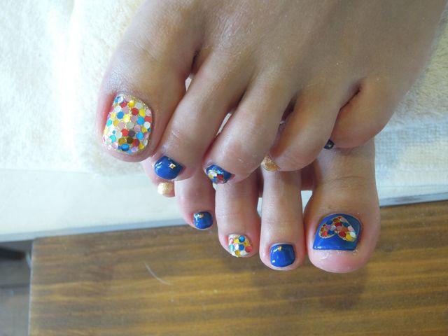Heart Foot Nail_a0239065_14251156.jpg