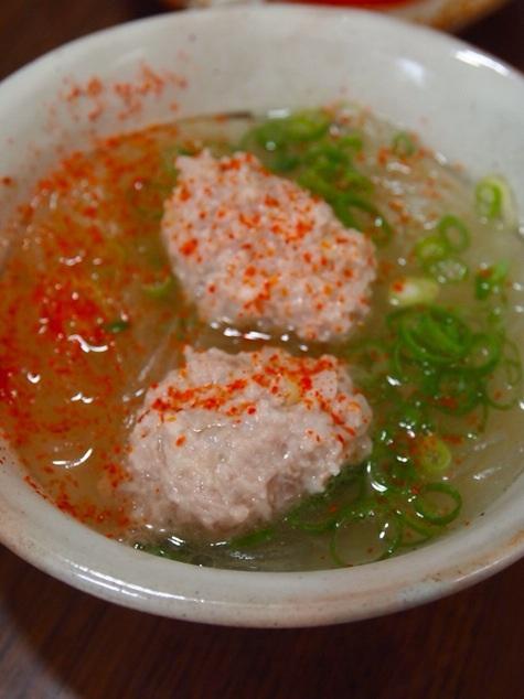 つみれと春雨の塩スープ_a0258686_744264.jpg