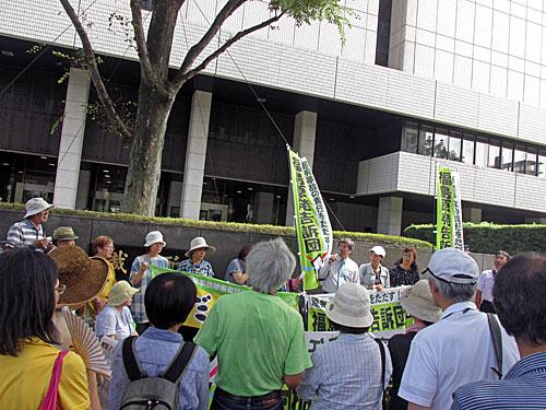 砂のゴジラ 福島原発告訴団 アスベスト訴訟 NHK大包囲_a0188487_17472745.jpg