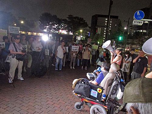 砂のゴジラ 福島原発告訴団 アスベスト訴訟 NHK大包囲_a0188487_17481620.jpg
