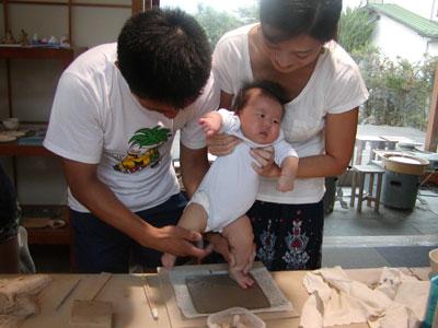 誕生記念&夏の思い出の陶芸体験_f0151419_1636192.jpg