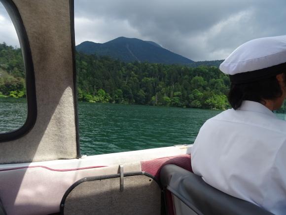 9)阿寒湖でモーターボート_b0236665_15010368.jpg