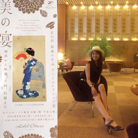 """ホテルオークラで開催された""""秘蔵の名品アートコレクション展""""「美の宴」に♪♪_a0138976_1553275.jpg"""