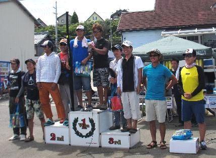第10回 琵琶湖でバスフィッシングを楽しもう会 上位チーム 入賞レポート_a0153216_16114451.jpg