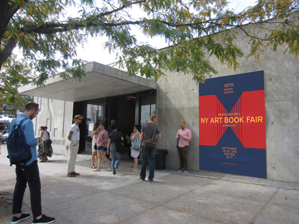 THE NY ART BOOK FAIR at PS1_PEPPER\'S ARTISTS_c0096440_110538.jpg