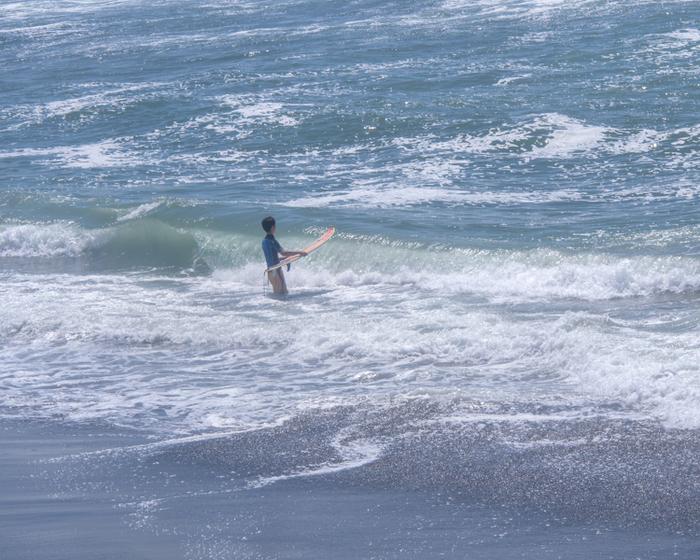 七里ヶ浜の夏の海。_b0022268_1924354.jpg