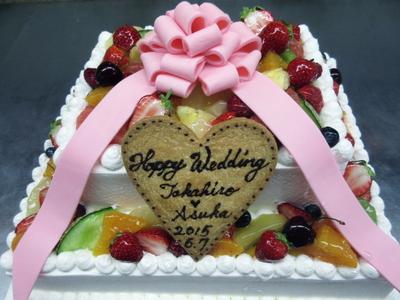 ウェディングケーキ!!!_a0171984_16533848.jpg
