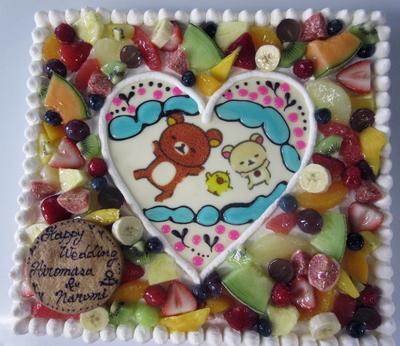 ウェディングケーキ!!!_a0171984_1654644.jpg