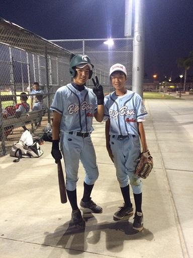 LAでの野球も楽しんでいます!_f0209300_14541680.jpg