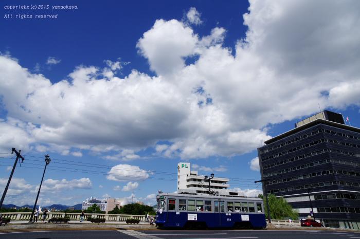夏空の相生橋_d0309612_0145654.jpg