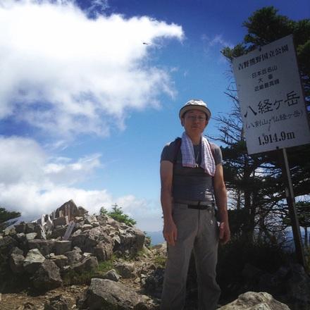 弥山 八経ヶ岳登山_a0033722_19243042.jpg