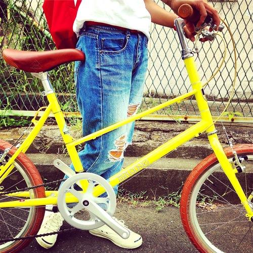 BRUNO 2016 『MIXTE FIAT』ブルーノ ミニベロ おしゃれ自転車 自転車女子 自転車ガール_b0212032_20592679.jpg