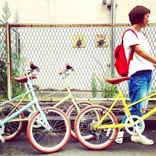 BRUNO 2016 『MIXTE FIAT』ブルーノ ミニベロ おしゃれ自転車 自転車女子 自転車ガール_b0212032_20595431.jpg