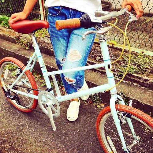 BRUNO 2016 『MIXTE FIAT』ブルーノ ミニベロ おしゃれ自転車 自転車女子 自転車ガール_b0212032_2101165.jpg