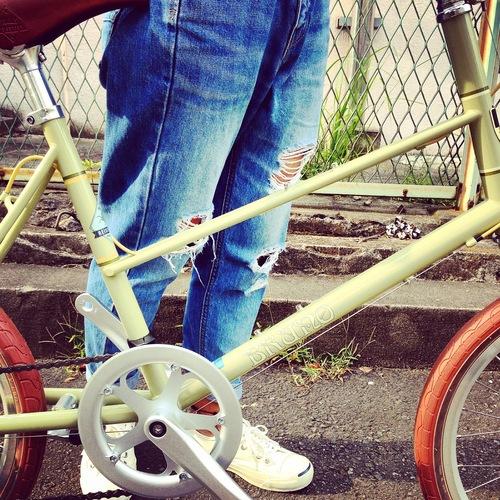 BRUNO 2016 『MIXTE FIAT』ブルーノ ミニベロ おしゃれ自転車 自転車女子 自転車ガール_b0212032_2104888.jpg