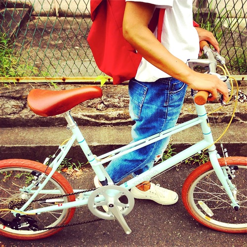 BRUNO 2016 『MIXTE FIAT』ブルーノ ミニベロ おしゃれ自転車 自転車女子 自転車ガール_b0212032_2111366.jpg