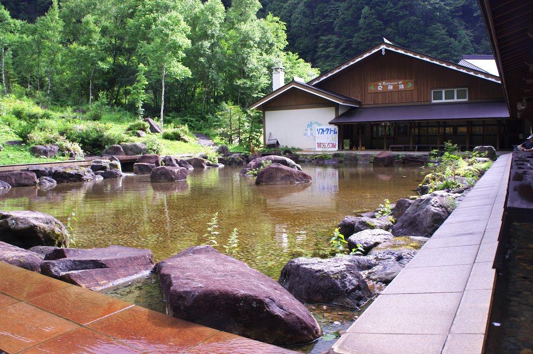 平湯大滝公園 : donpishaⅡ