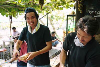 熊本ぶどう 社方園 第8回ぶどう祭り その2_a0254656_1838620.jpg
