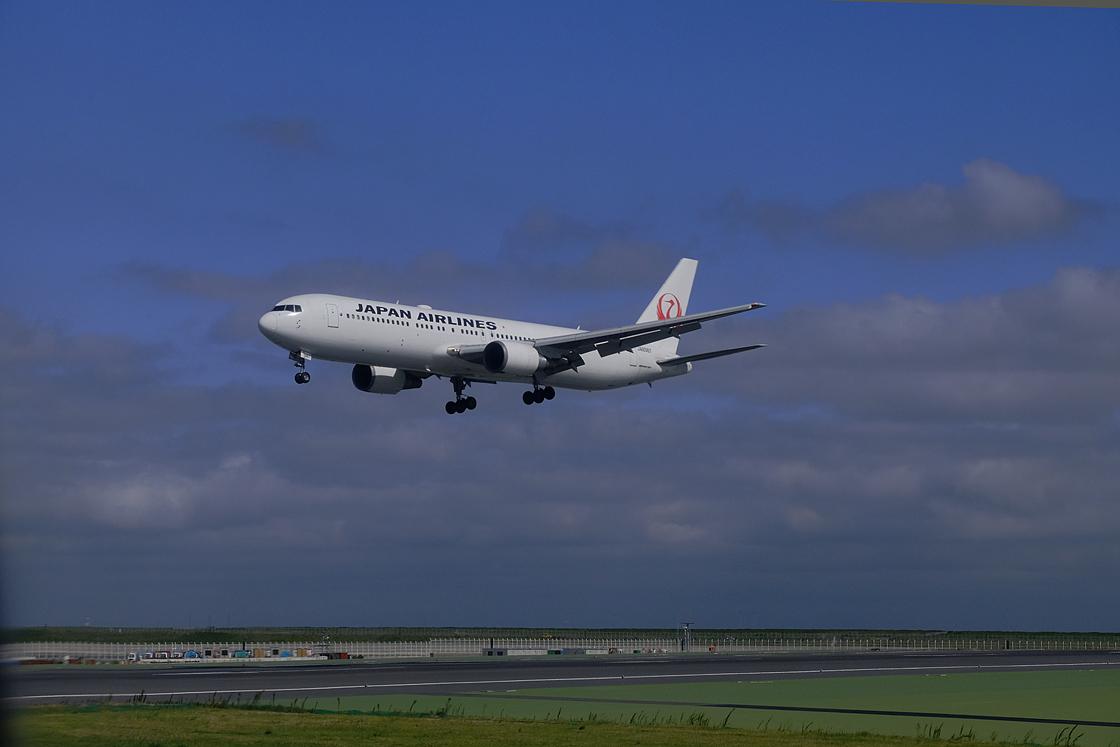 青空に向かって久しぶりの飛行機の旅です_a0031363_22445385.jpg